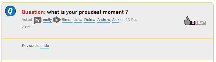 proudest