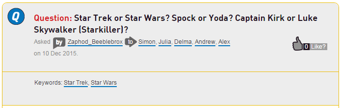 star wars choice