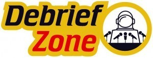 Debrief Zone Logo